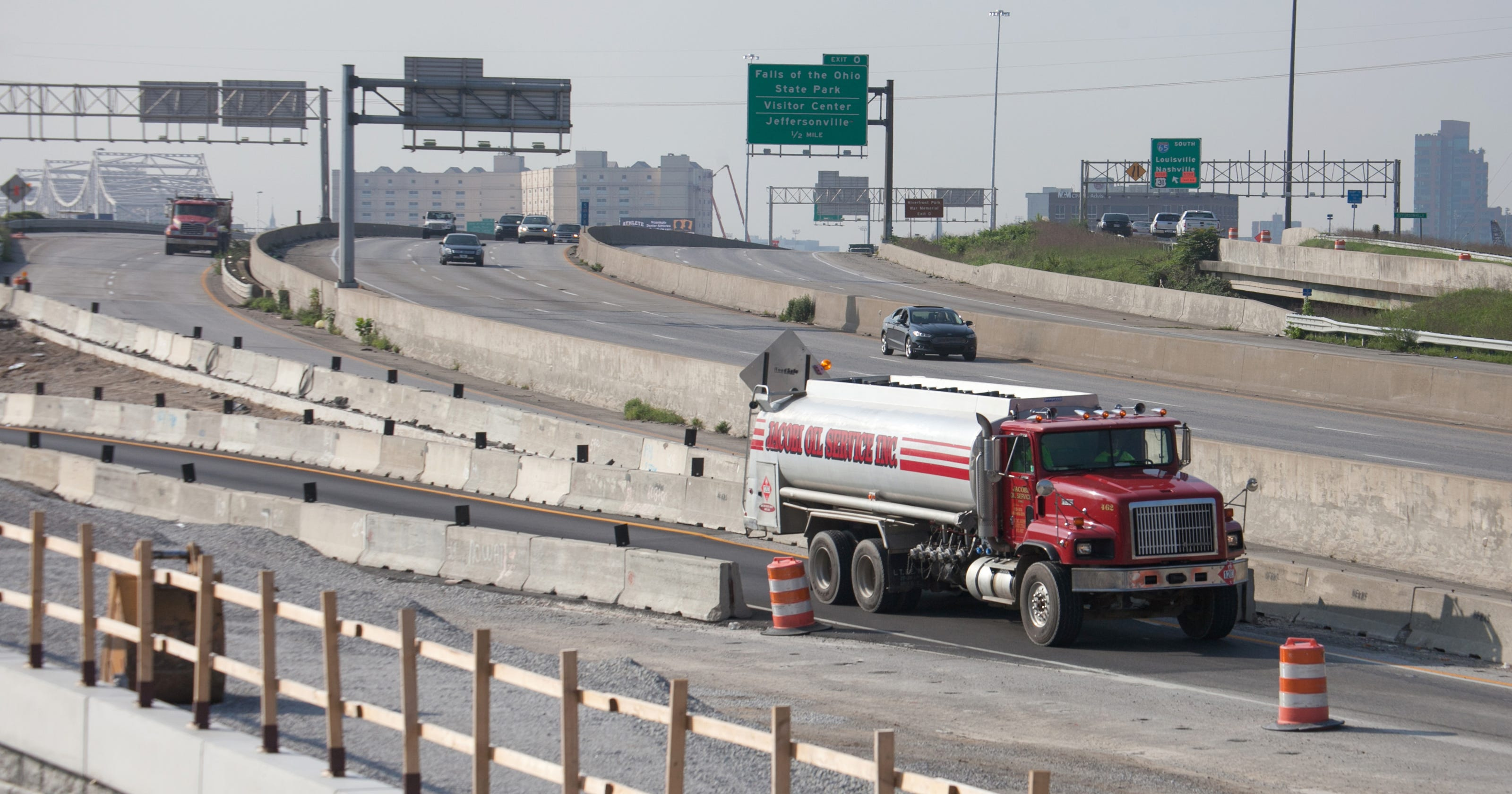 Bridges project to close I-65 lanes for 2 years