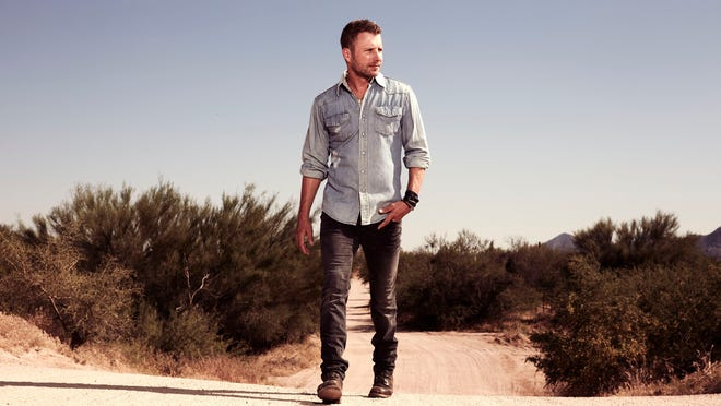 Dierks Bentley has charted 12 No. 1 songs.