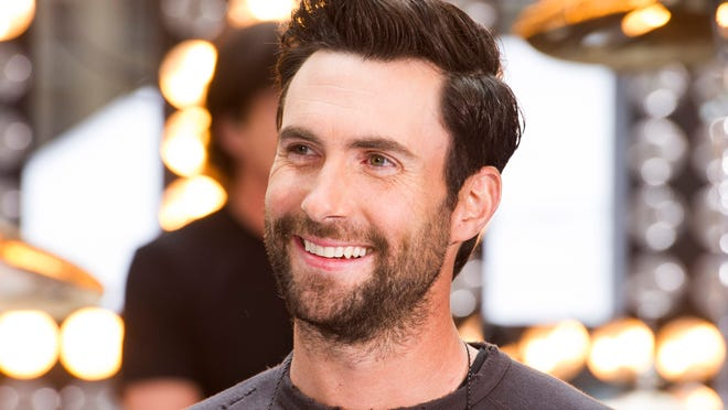 """Maroon 5 lead singer Adam Levine appears on NBC's """"Today"""" show in New York. Levine says his acting debut in the film """"Begin Again"""" has inspired him to continue acting. The part, playing a young musician who strikes it big, was easy to identify with for the pop star."""
