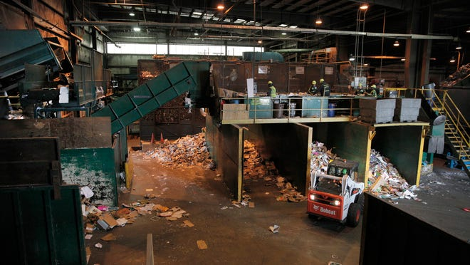 The Monroe County Recycling Center.