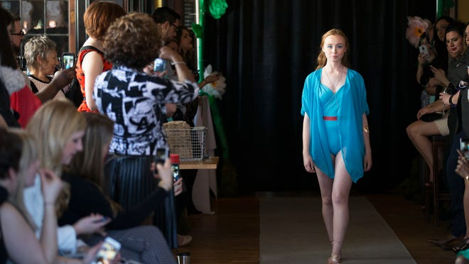 Shop Peppermint, 121 Park Ave., will be celebrating its third anniversary with a J.Vargas trunk show Saturday, April 11, featuring some of the looks from Sewn Seeds and Fashion Week runway shows.