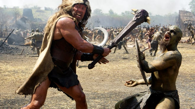 "Dwayne Johnson is Hercules in a scene from ""Hercules."""