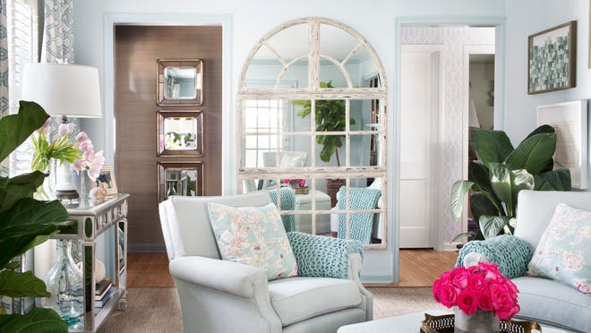 Brian Patrick Flynn suggests light blue-grey tones for homeowners apprehensive about using springtime pastels. Flynn claims that blue-greys and robi''s egg blues work almost as new neutrals and gel with a wide array of accent colors, plus these hues are also gender neutral.