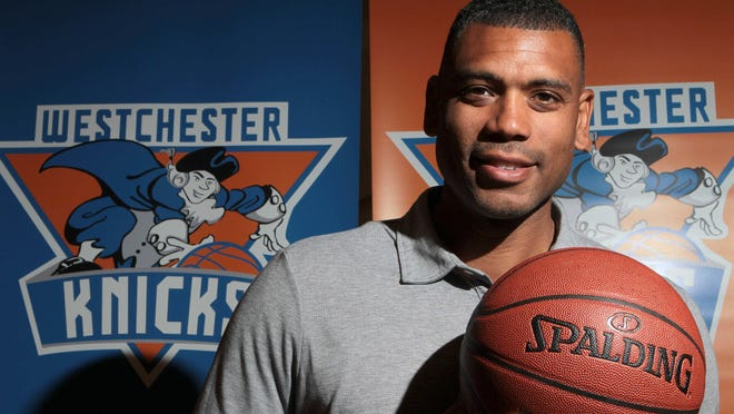 Westchester Knicks GM Allan Houston at the New York Knicks training facility in Greenburgh Aug. 29, 2014.