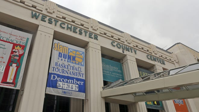 The Westchester County Center in White Plains, photographed Dec. 17, 2014.