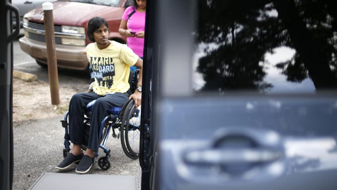 Ronny Ahmed, seen in 2015, was in Tallahassee on Wednesday, Feb. 21, 2018, as part of a protest after the mass shooting at Marjory Stoneman Douglas High School in Parkland.