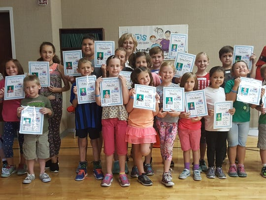 The 2017 radKIDS graduating class, with instructors