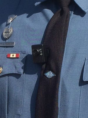 State police announced the launch of the body-worn video camera program Thursday. Twenty five officers will wear them.