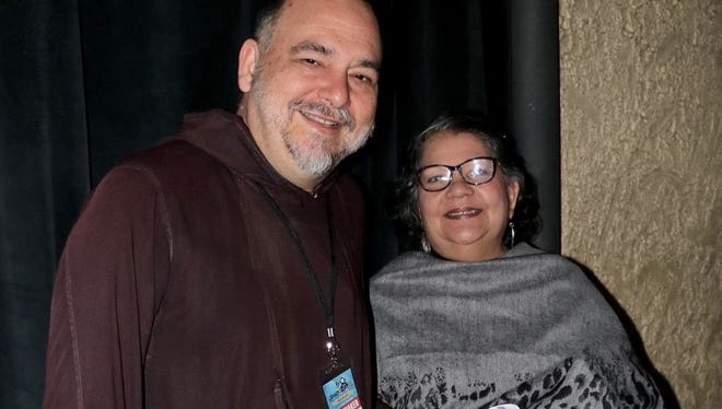 "Pale' Eric Forbes, left, in Oregon for the showing of documentary ""I am Chamorro"" at the DisOrient Asian American Film Festival of Oregon."