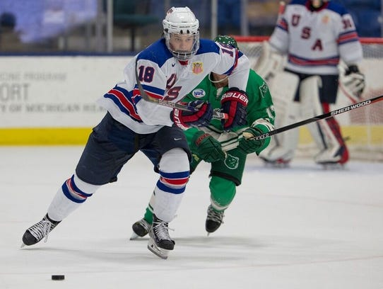 One of Team USA's offensive threats during Five Nations