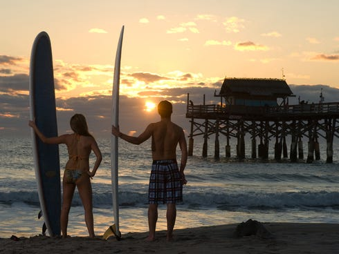 Between the sunsets, balmy temps and friendly surf, Cocoa Beach has a lot going for it.