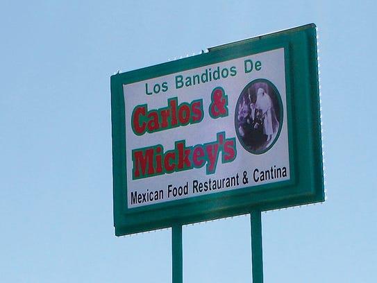 Los Bandidos de Carlos and Mickey's is at 1310 Magruder