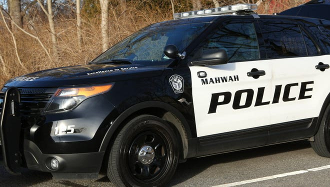 A Mahwah police vehicle.
