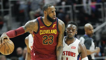 'Shell-shocked' Pistons slapped around by LeBron, Cavs