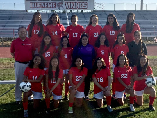 The Hueneme High girls soccer team qualified for the