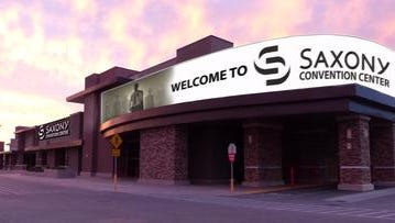 The La Quinta City Council will receive an update on plans for the Saxony Convention Center during Tuesday's meeting at City Hall.