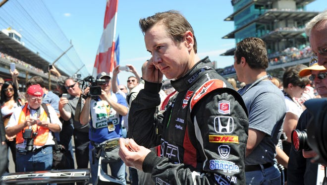 Kurt Busch finished sixth in the 2014 Indianapolis 500.