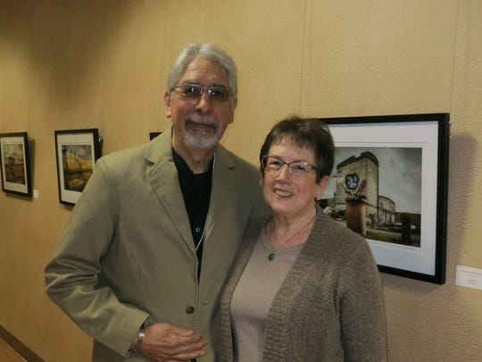 David and Patty Cook of Redding attend the Redding Cultural Cruise on Jan 27 at Redding City Hall.