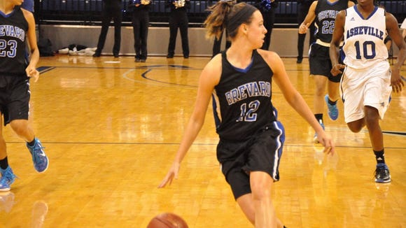 Robbinsville alum Katie Williams is a junior at Brevard College.