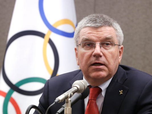 AP OLY BACH RUSSIAN DOPING S OLY FILE KOR