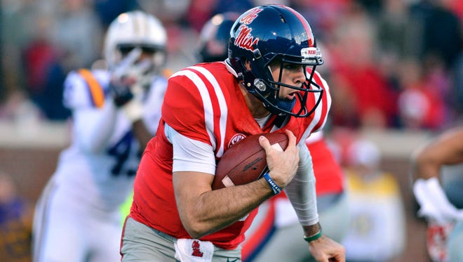 Ole Miss Rebels quarterback Chad Kelly is excited to play in his first Egg Bowl in the midst of his excellent season.