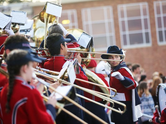 The South Salem Marching Band