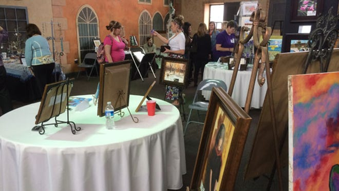 Beautiful art will be on sale on March 5 during Pike RoadÕs Fifth Annual Art Market.