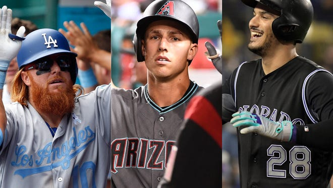 Justin Turner, Jake Lamb and Nolan Arenado have their respective teams in contention.