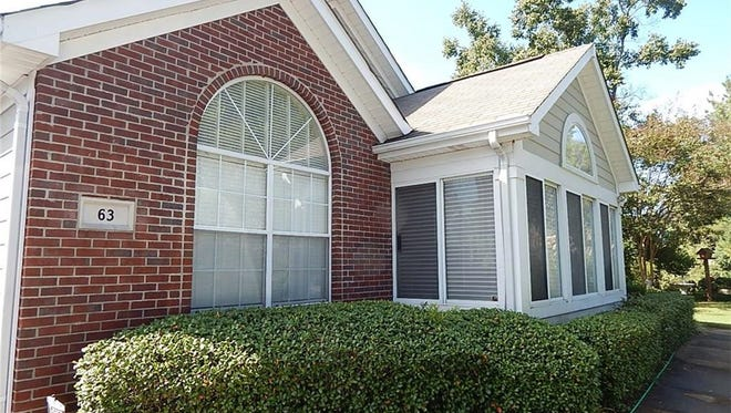 One Orchards home is for sale for $164,900, and offers two bedrooms and two bathrooms within 1,355 square feet of living space.