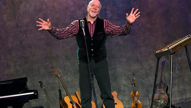 Folk singer, storyteller, songwriter and multi-instrumentalist John McCutcheon has a show Friday in Auburn.
