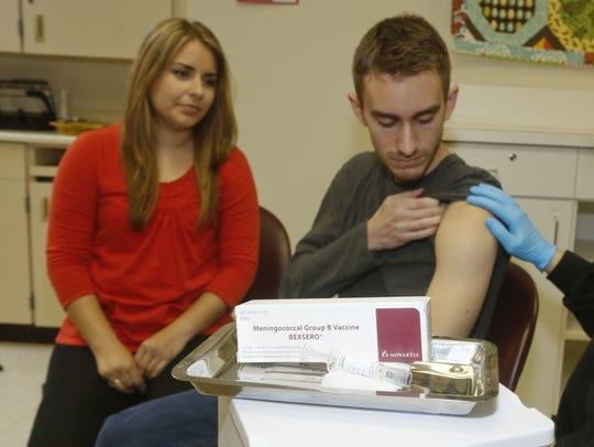 Meningococcal meningitis survivor and vaccination advocate