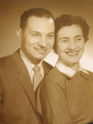 John and Renee Rothschild as a young couple.  Feb.