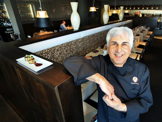 Anoosh Shariat, chef/owner of Anoosh Bistro.