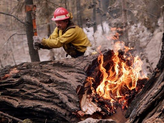 AP APTOPIX Western Wildfires