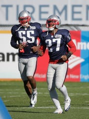 New England Patriots strong safety Tavon Wilson (27)