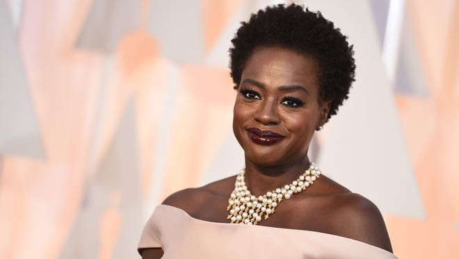 Viola Davis arrives at the Oscars in February  at the Dolby Theatre in Los Angeles.