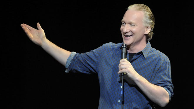 "HBO courtesy photo  Comedian Bill Maher, host of HBO's ""Real Time with Bill Maher,"" will perform at Stephens Auditorium in Ames on Nov. 7."
