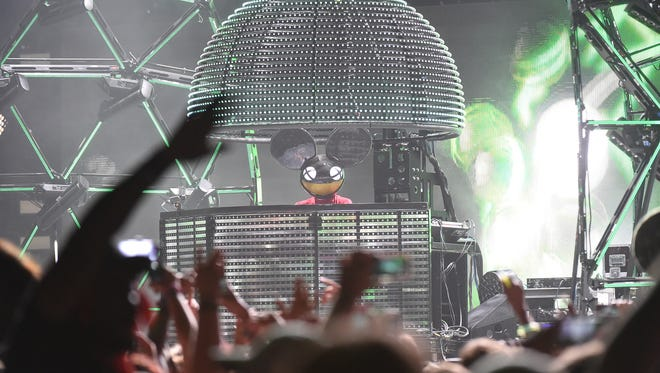 Deadmau5 plays Firefly Music Festival in June, its first house/electronica headliner.