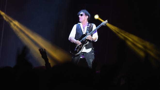 Neal Schon will perform with Journey on May 27 at Indianapolis Motor Speedway.