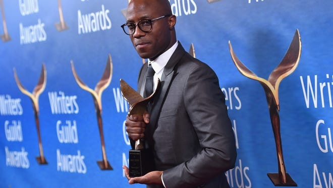 BEVERLY HILLS, CA - FEBRUARY 19:  Writer Barry Jenkins poses with the Original Screenplay Award for 'Moonlight' during the 2017 Writers Guild Awards L.A. Ceremony at The Beverly Hilton Hotel on February 19, 2017 in Beverly Hills, California.