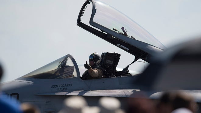 Images from the Stuart Air Show at Witham Field on Nov. 4, 2017.