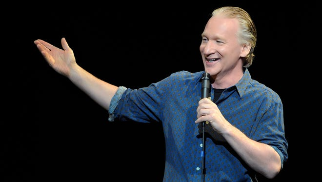 Television host and comedian Bill Maher.