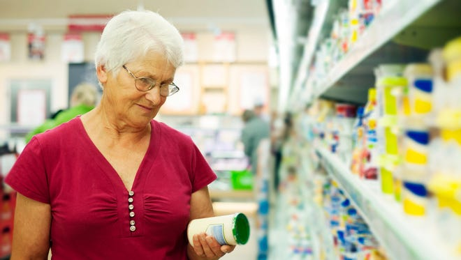 Read nutrition labels for helpful information including serving sizes.