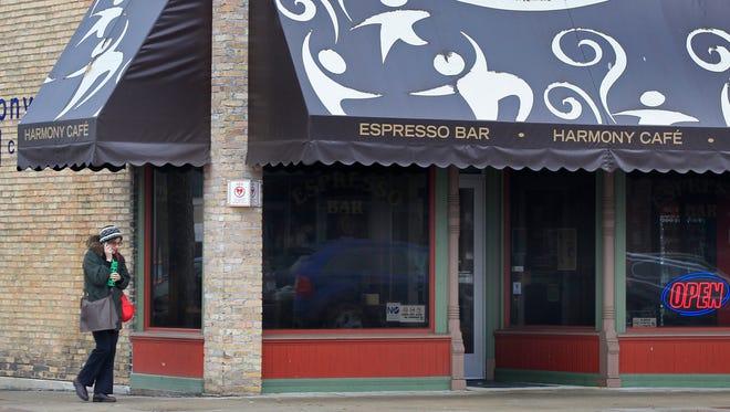 Harmony Cafe in Appleton, Wis.