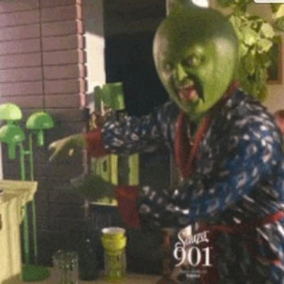 Justin Timberlake plays a giant lime.