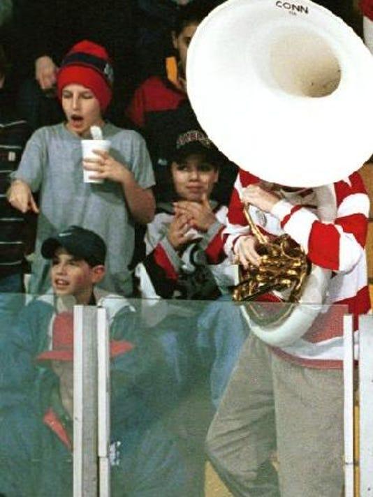 Cornell Hockey fans