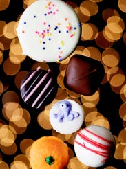 A selection of chocolates from Kilwins Chocolate and