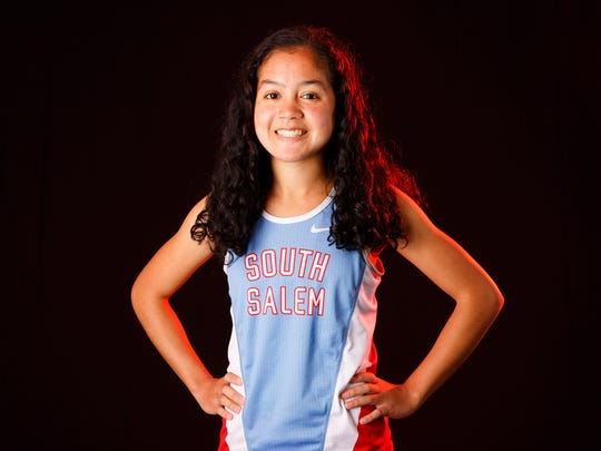 South Salem runner Anna Chau