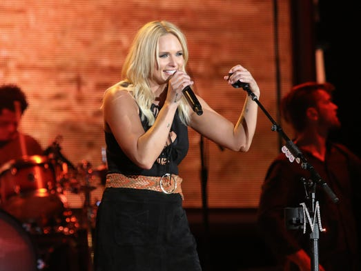Miranda Lambert performs at The Wharf Amphitheater