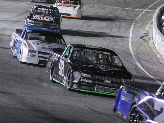 Pollard Continues Dominant Ways At Five Flags Speedway